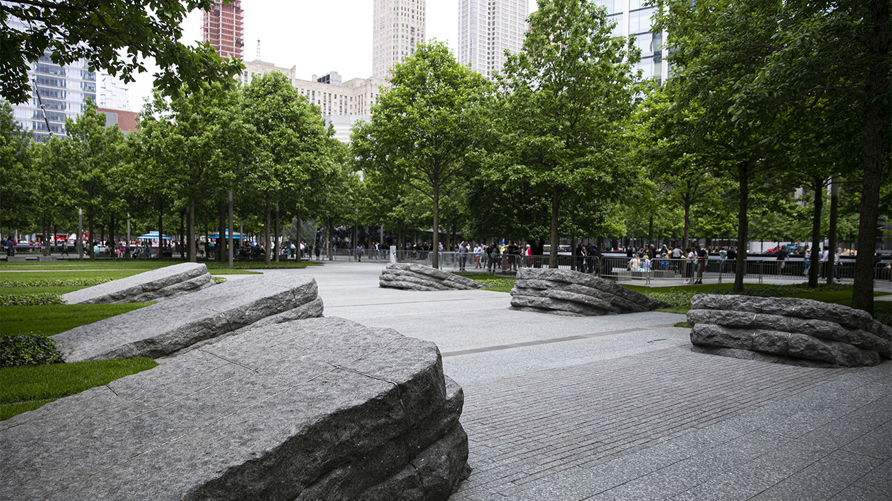 Navigate to 9/11 Memorial Glade page
