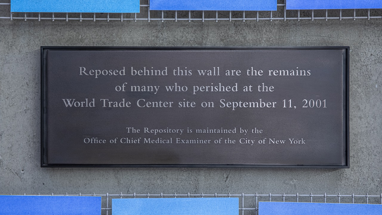 Navigate to OCME Repository at the World Trade Center  page